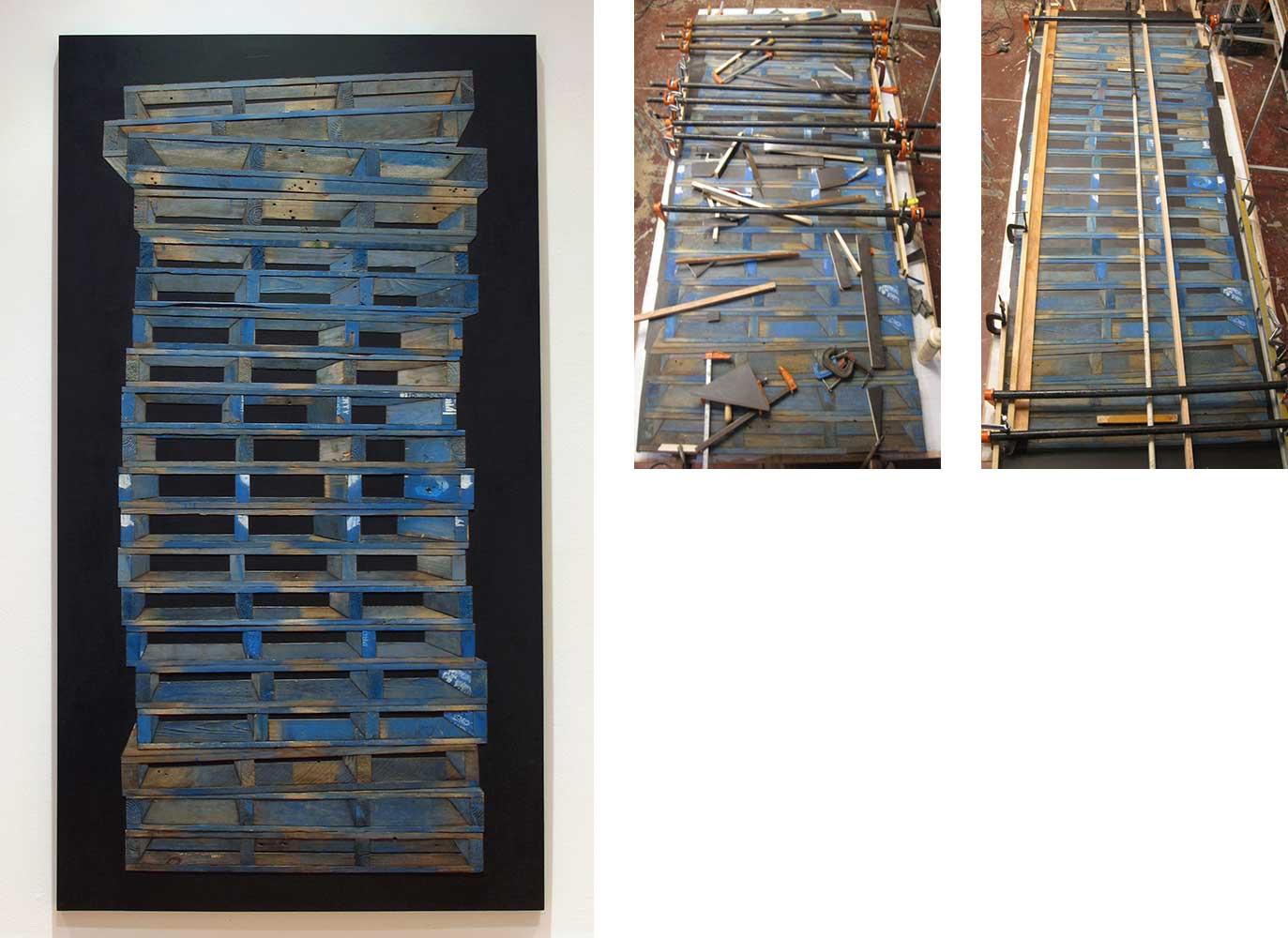Blue Pallets, 2011