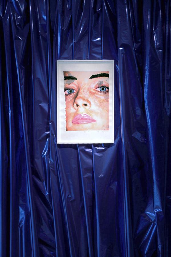 Ida TURSIC & Wilfried MILLE. The Face, 2014. Aquarelle sur papier  \Watercolor on paper . 57 x 37 cm. Courtesy des artistes