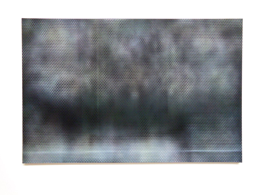 NICOLAS DELPRAT   Sans titre \ Untitled, 2009. Acrylique sur toile \ Acrylic on canvas. 97 x 146 cm