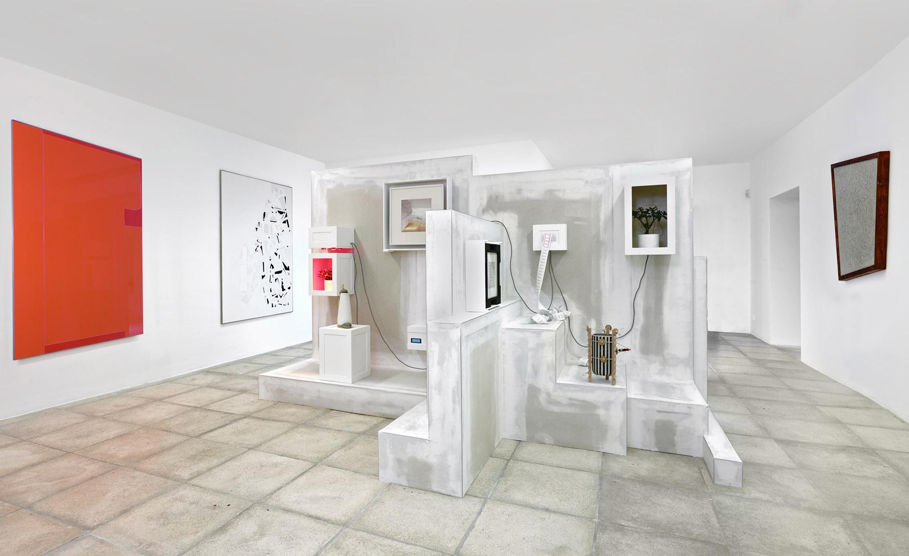 2+1,Pierre Descamps, Mathieu Schmitt &Xavier Theunis, Galerie Catherine Issert, Saint-Paul-de-Vence, 2017