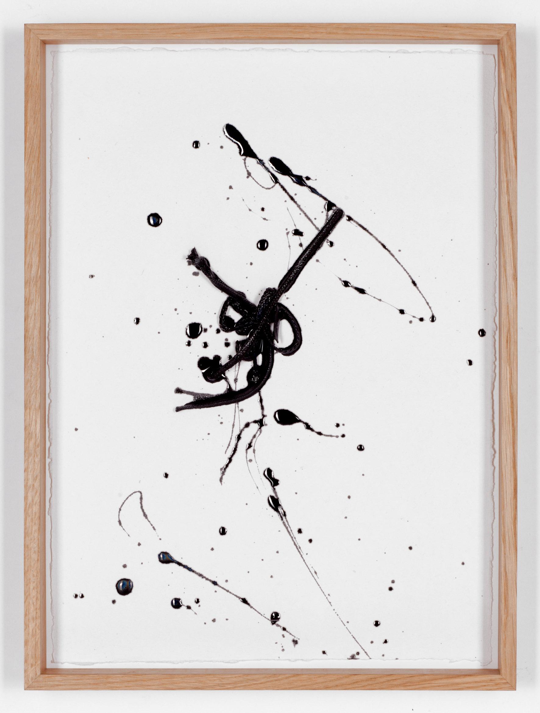 Line Drawing (black) #1, 2017