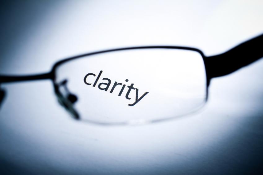 the word clarity seen through glasses.jpg