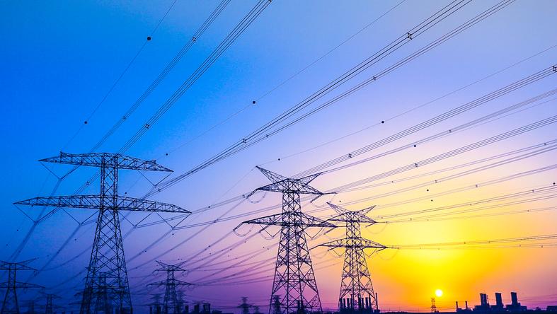 Electrical Pylons near Jabel Ali, Dubai, United Arab Emirates.jpg