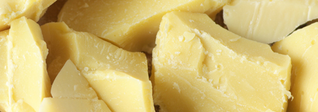 Cocoa Butter is high in antioxidents, may reduce stretch marks and hydrates and calms sensitive skin.