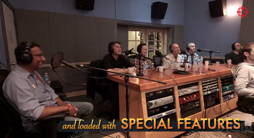 Grim Fandango Recording at Pyramind - Studio A | Featured inIGN Video for Launch Trailer