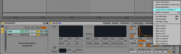 Sibling Samplers - 7 Useful Ableton Shortcuts and Key Commands in Live 9