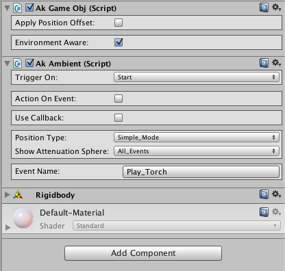 AKAmbient Editor in Wwise