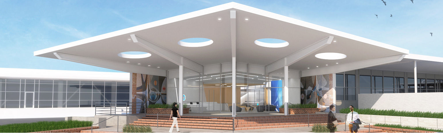 HP Welcome Center Mockup
