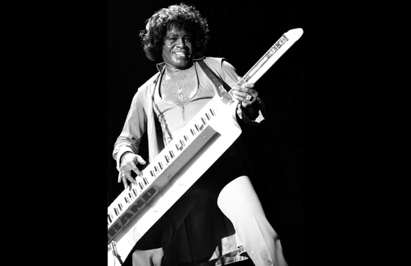 Unless you are James Brown, stay away from keytars