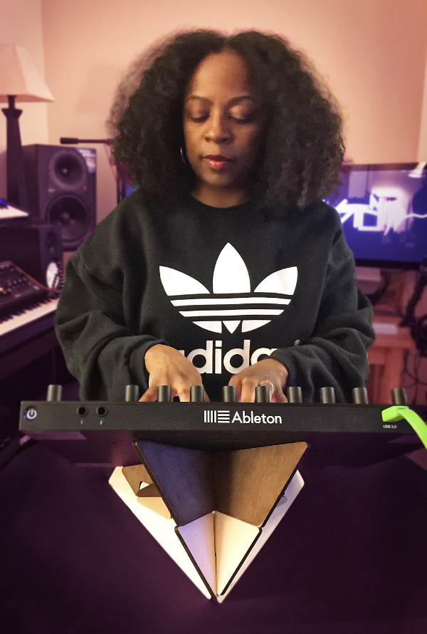 Stoni on Ableton Push