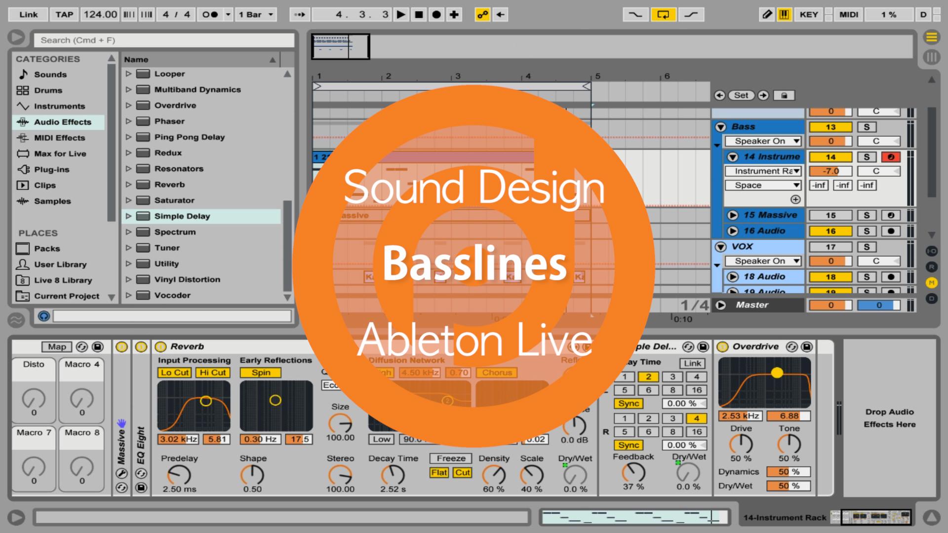 Basslines Ableton Live