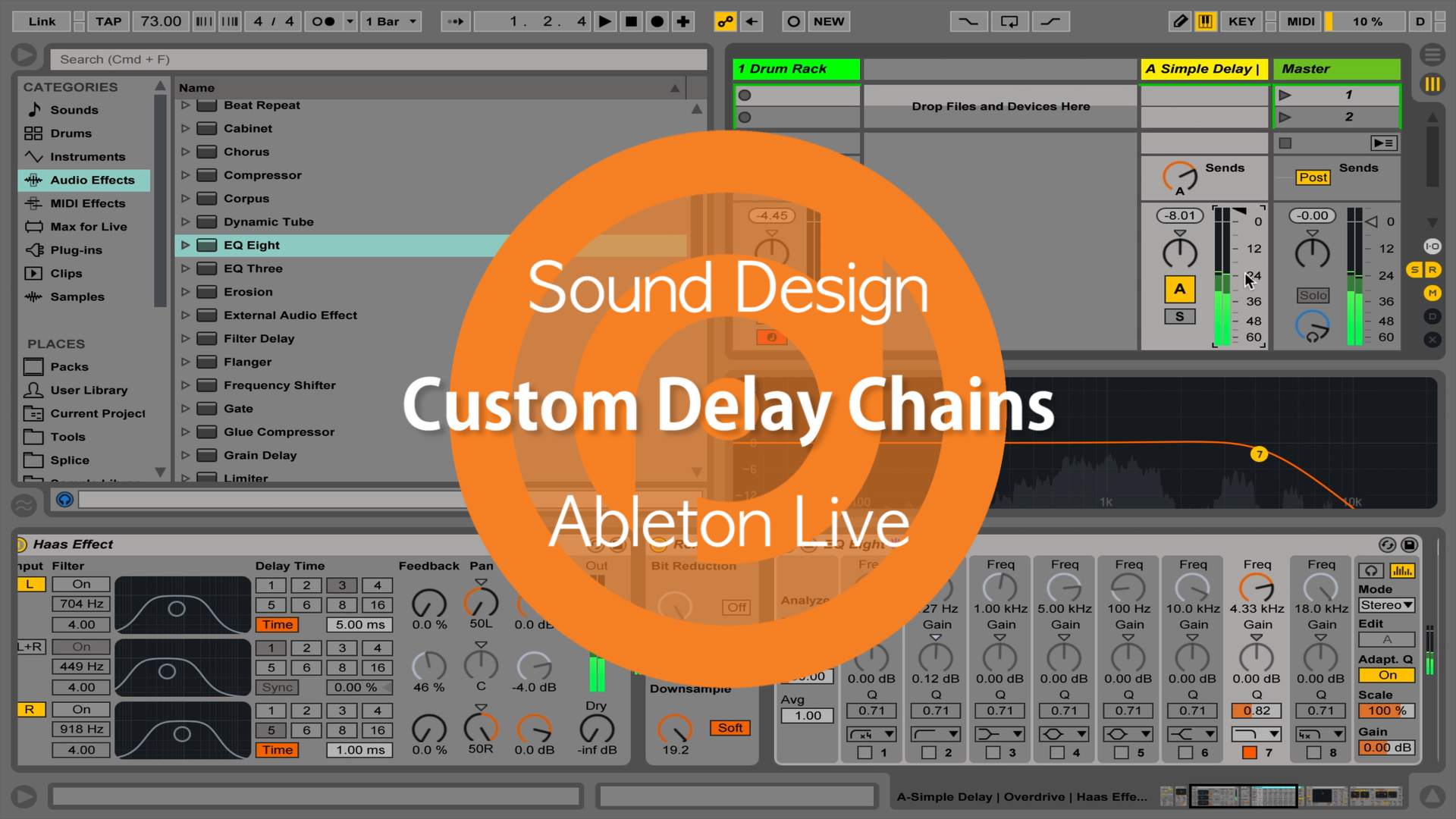 Custom Delay Chains in Ableton