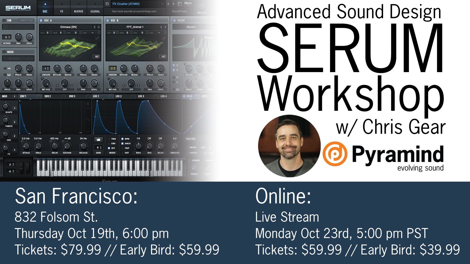 Online Workshops - Serum