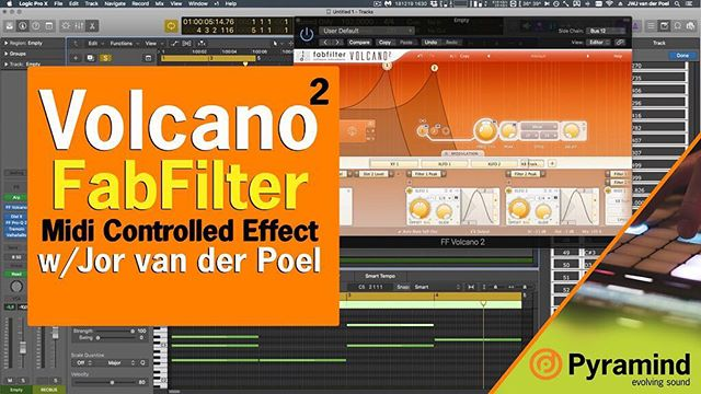 There's a brand new tip from Pyramind #mentor Jor van der Poel up on our #blog  Jor does a dive into FabFilters Volcano and comes up with ways to create tones from filter feedback! Interested in how that works? Check out the #link in our bio! We still have room in our May night programs for both Ableton and DJing but spots are filling up fast, enroll today! #nightclass #filter #synth #audiotips #ableton #producer