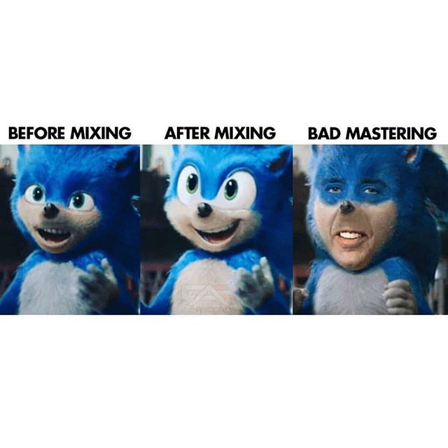Are you guys excited for the Sanic movie?! #audio #movie #mixing #mastering #sonic