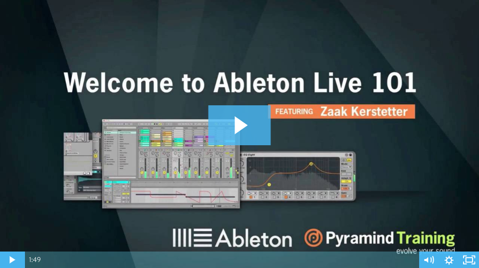 Ableton Live 101 - Free Class - Pyramind