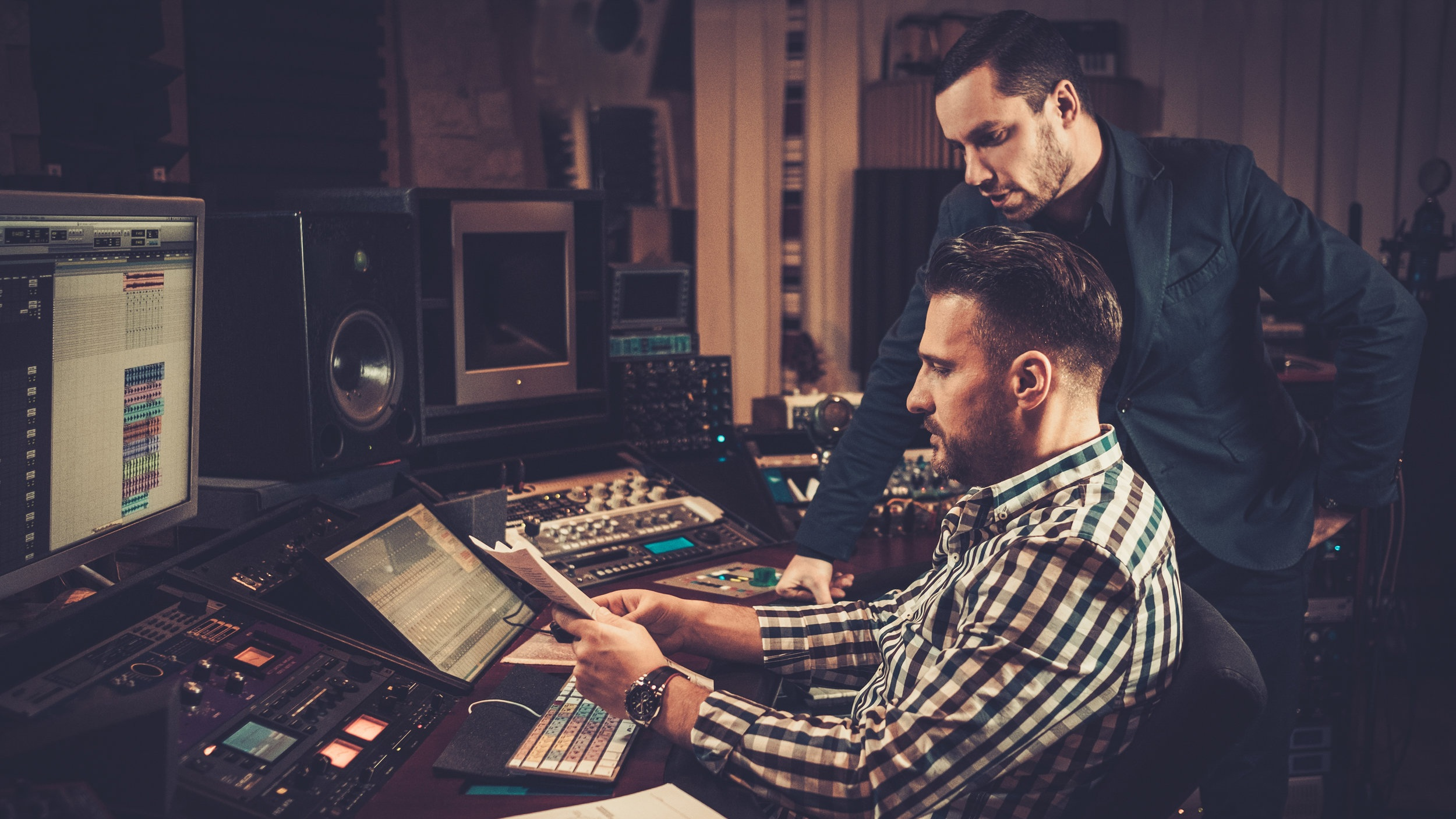 """Open All the Career Doors - The Complete Producer program builds your skills in a wide range of disciplines - music, post-production, sound design, audio engineering, and sound for picture and games. Only the Complete Producer offers this many career paths. Get the client to say """"yes"""" when opportunity comes - be prepared by learning everything about producing!"""