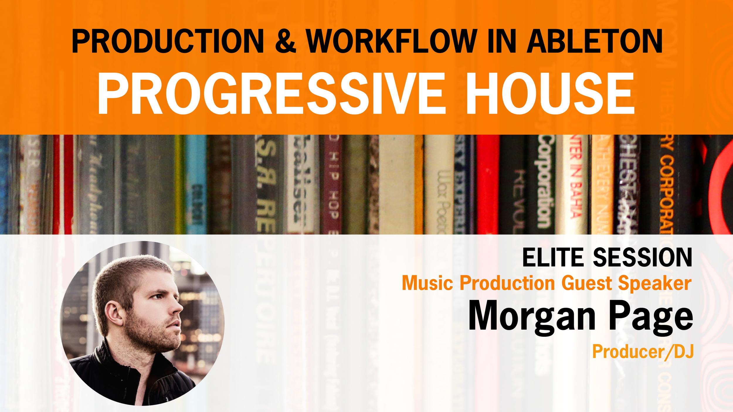 Morgan Page hosts Pyramind Elite Session