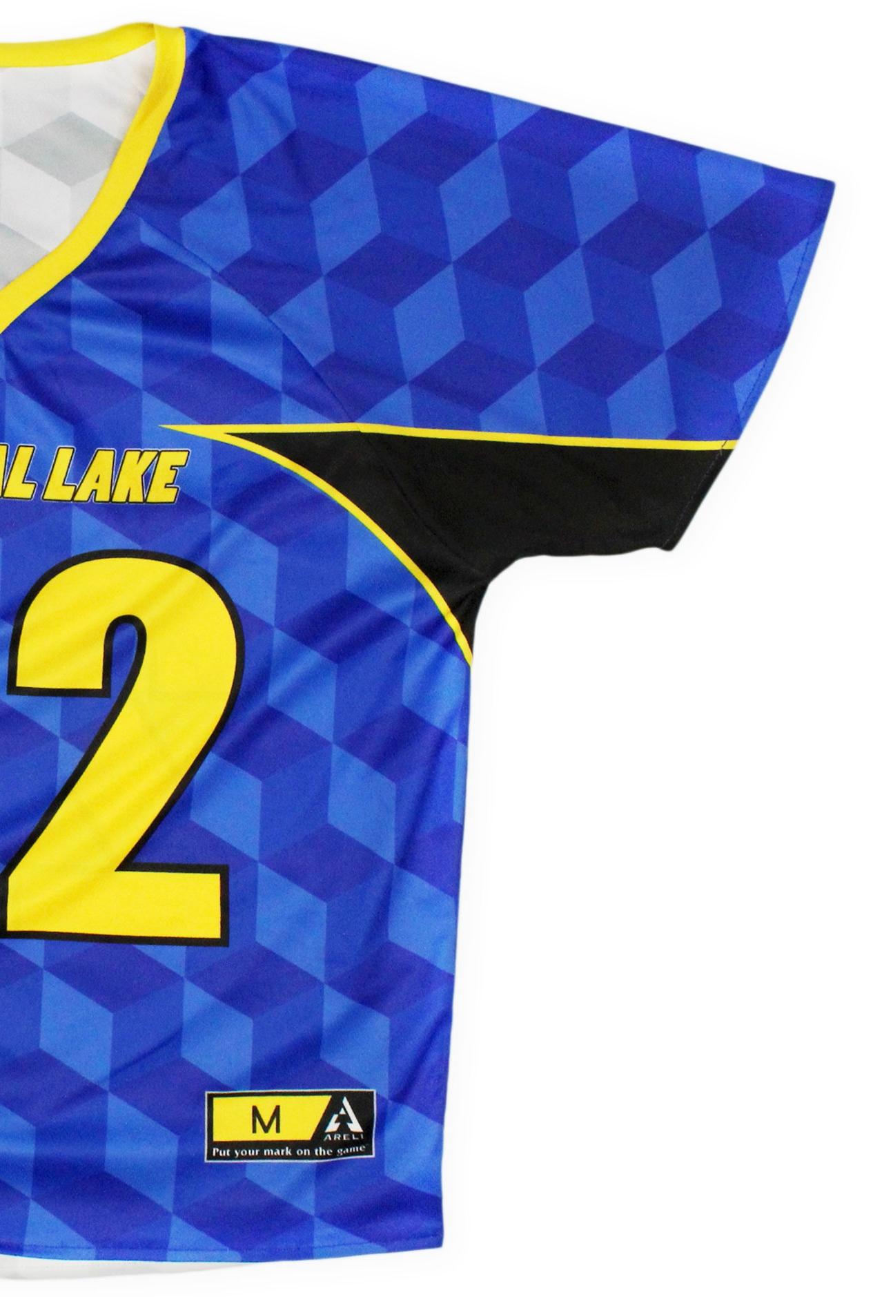 Lacrosse - Custom designed fully sublimated lacrosse essentials