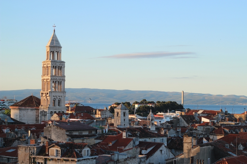 Split Croatia bell tower