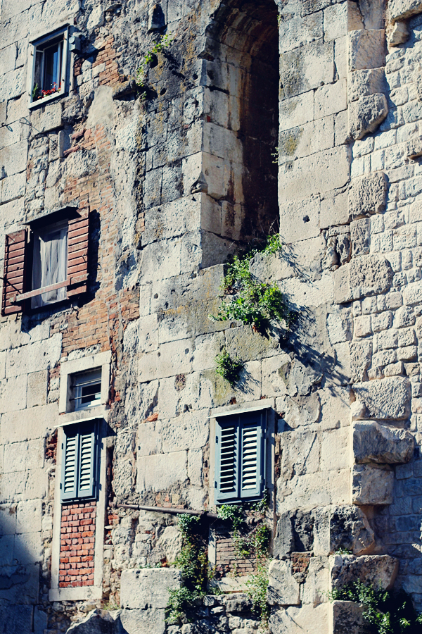 Split Croatia walls