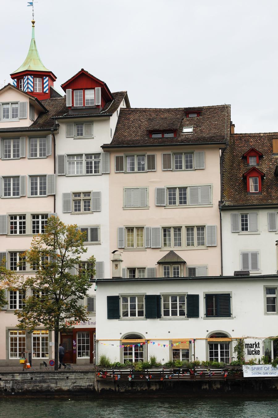 Zurich Switzerland buildings