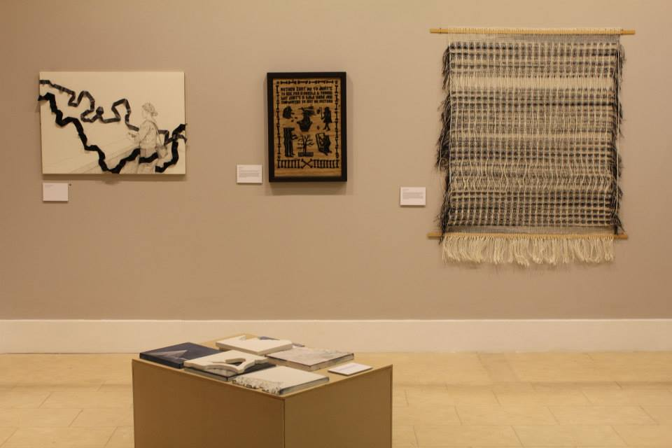 Work by (from left to right); Susanne LP, Spike Dennis, Matilda Dominique and Sarah Porous