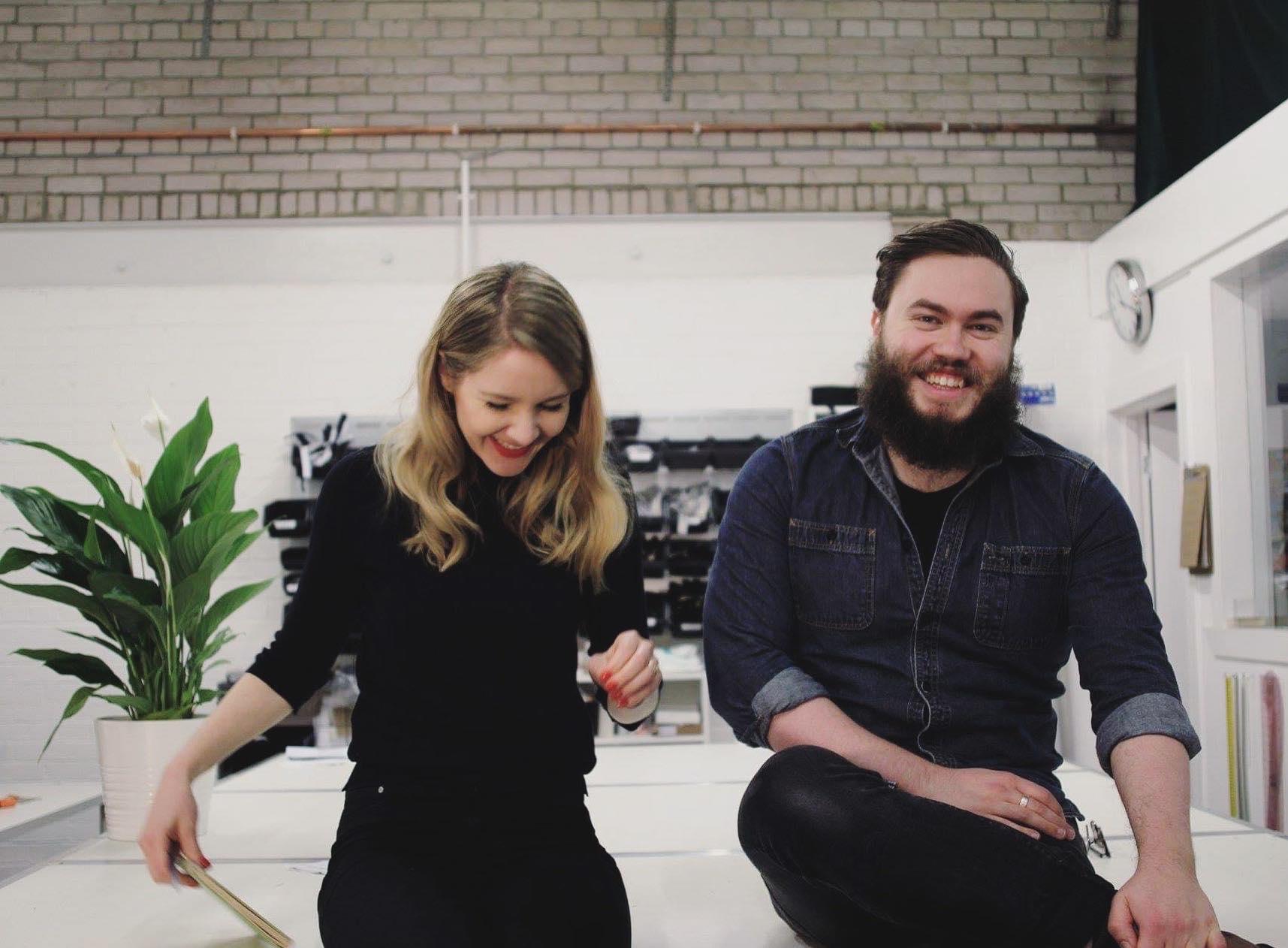 Kalopsia Directors Nina Falk and Adam Robertson