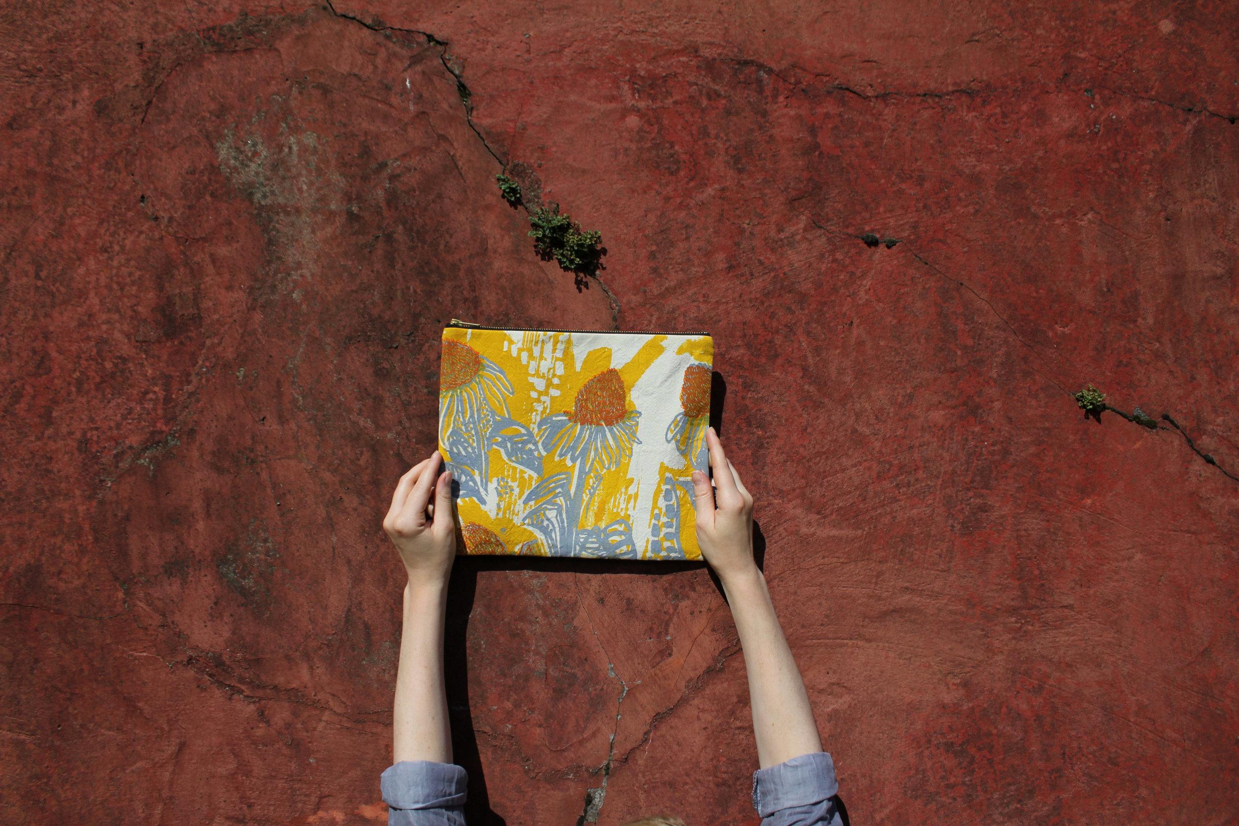 Custom  flat bag  - Cecile Garcia