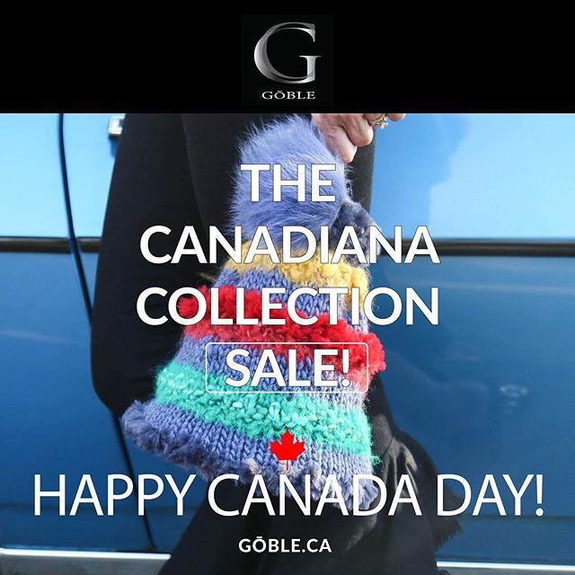 First time ever sale - HAPPY CANADA DAY! Up to 50% off your favourite Canadiana accessories! Link in bio. #happycanadaday #sale #thisneverhappens #canadiana #scarves #hats #handknit #linkinbio #GOBLE