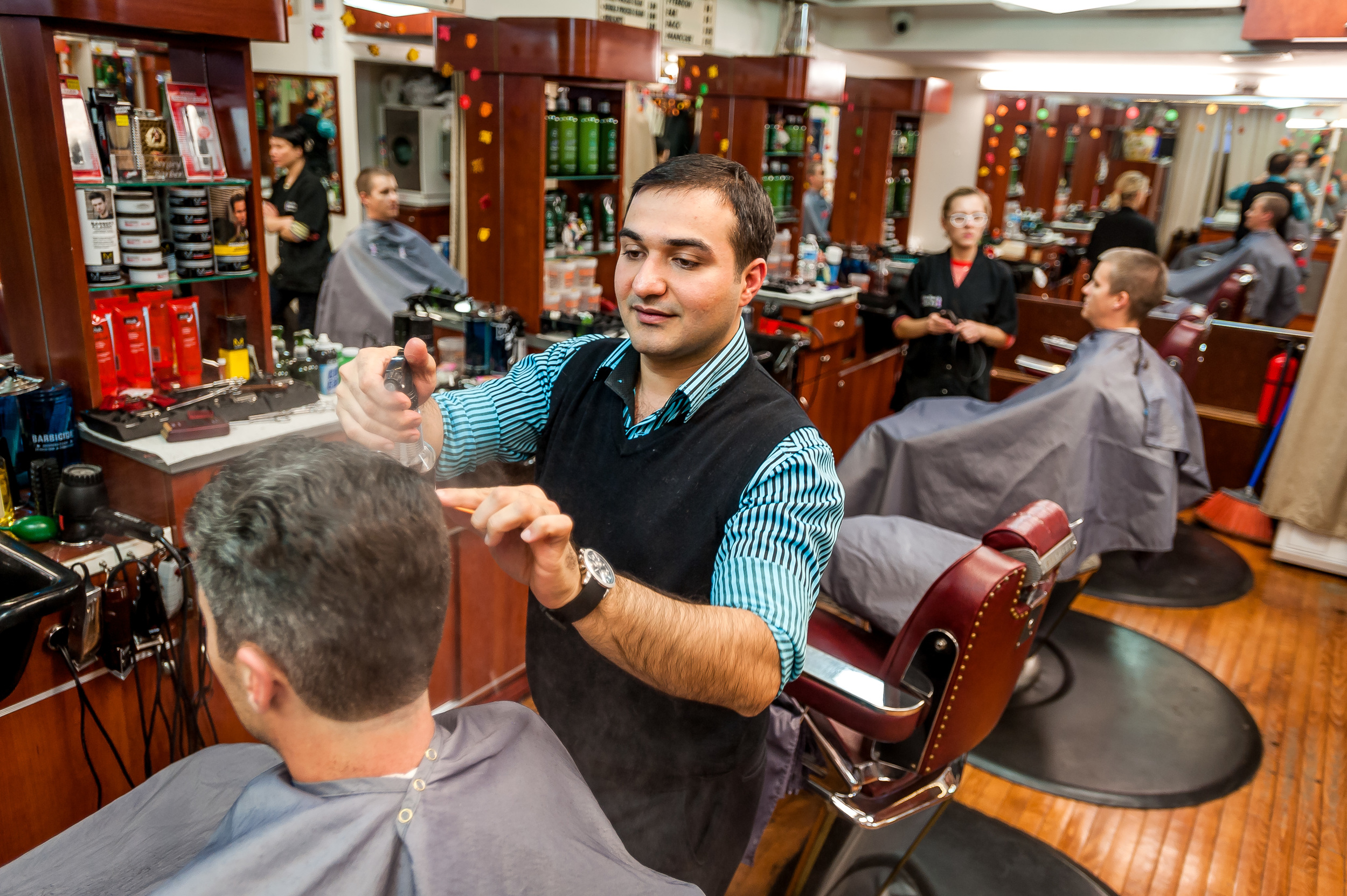 Clinton Street Barber Shop
