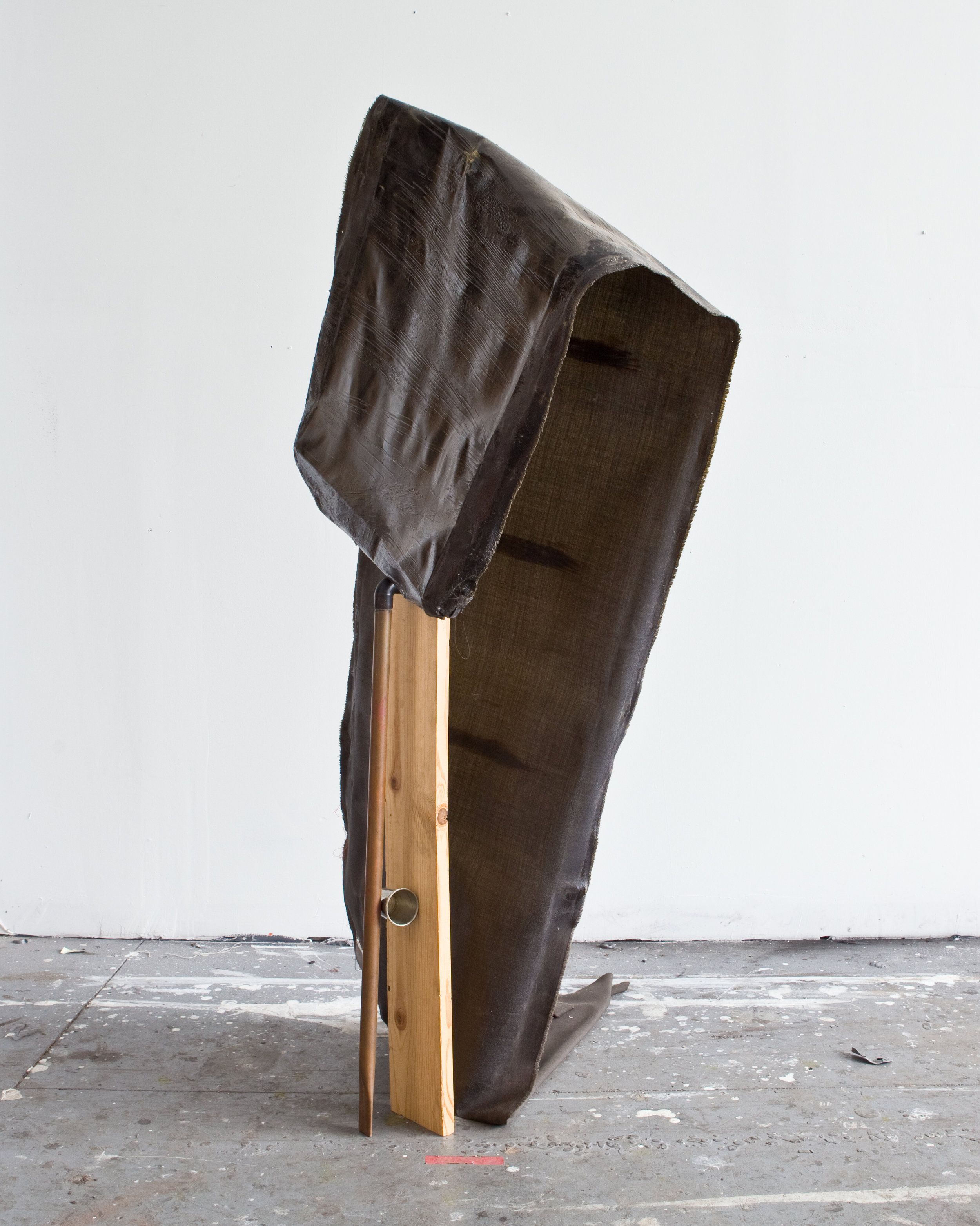 Regenerative Landscape | Fabric, polyurethane, copper, pewter, wood, wood stain, 2017