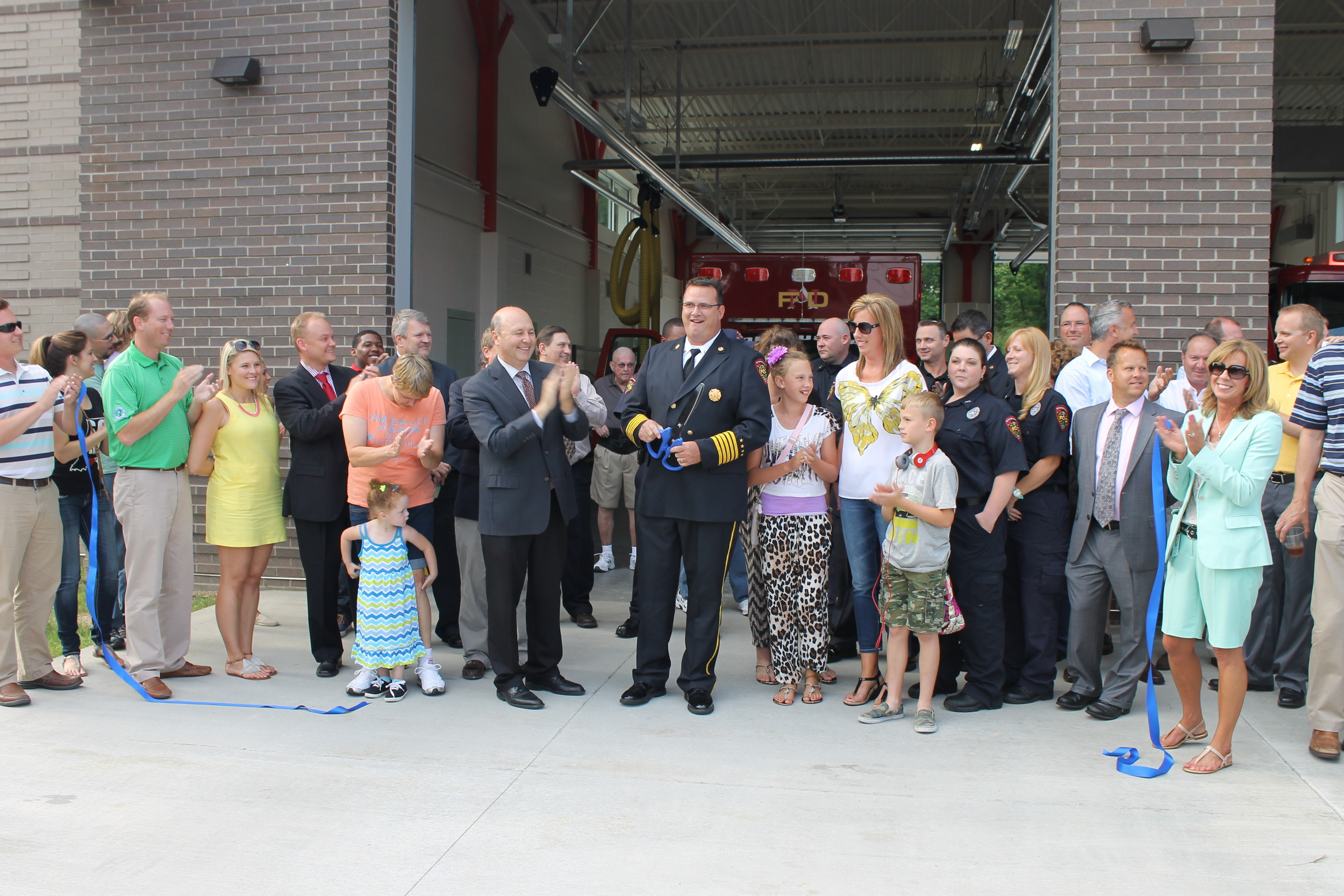 NAFD Station #4 Ribbon Cutting on Daisy Lane.