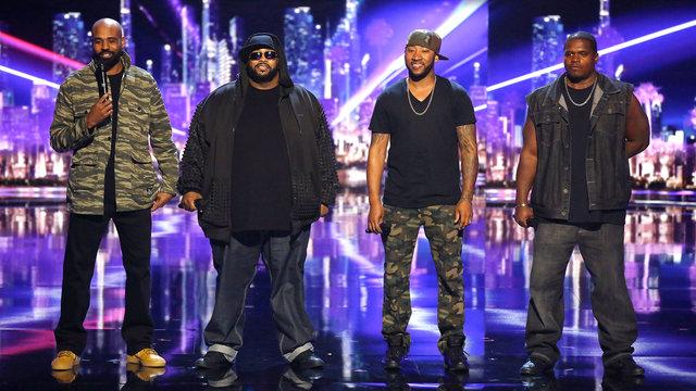 Linkin' Bridge - photo still from NBC's America's Got Talent.