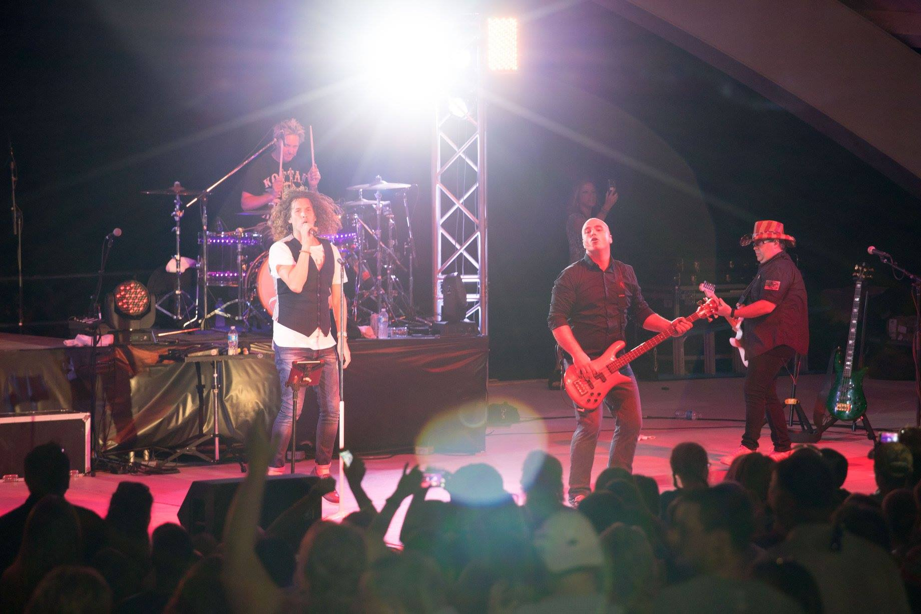 The Louisville Crashers at the Riverfront Amphitheater.