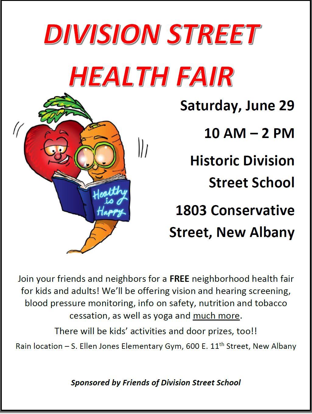 division street health fair.JPG