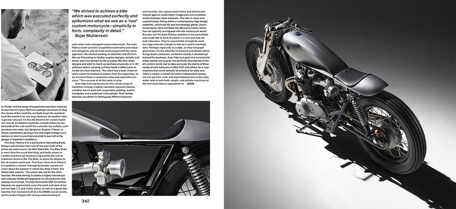The Ride 2nd Gear, Gentlemen Edition, Gestalten, October 2015.