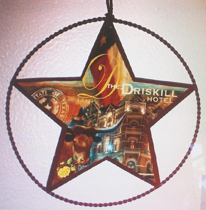 "'Driskill Star,  available as 6"" ornament, or 12"",18"",30"" Barn Star"
