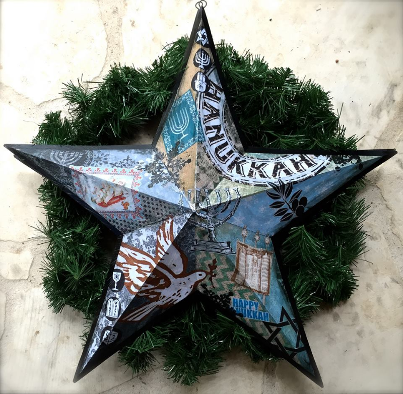 holiday star workshop by Sharon Roy Finch