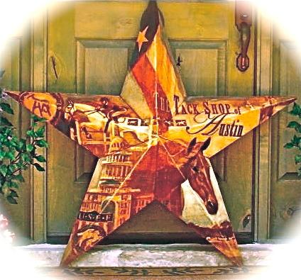 'Tack Shop of Austin Star,  5'