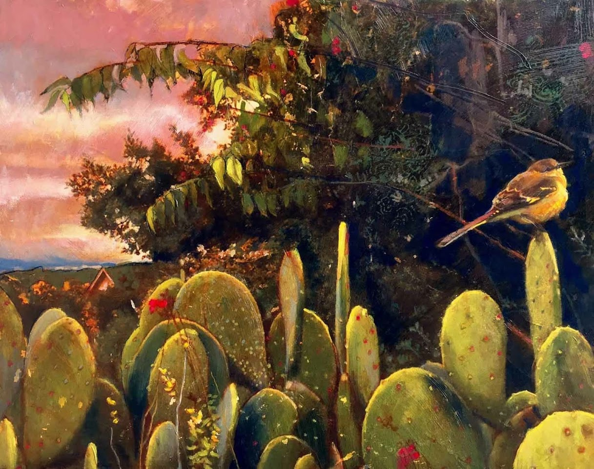 'Bird on Cactus'