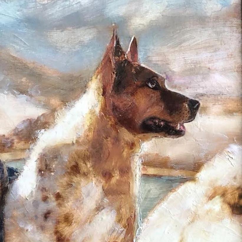Pet Portrait by Sharon Roy Finch