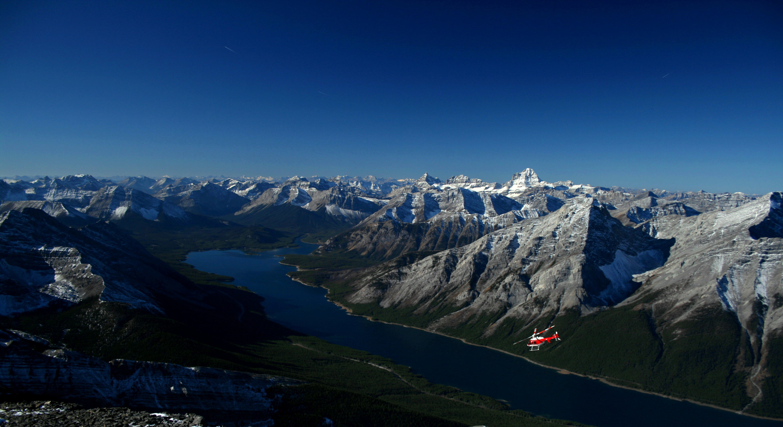 Photo courtesy of Alpine Helicopters
