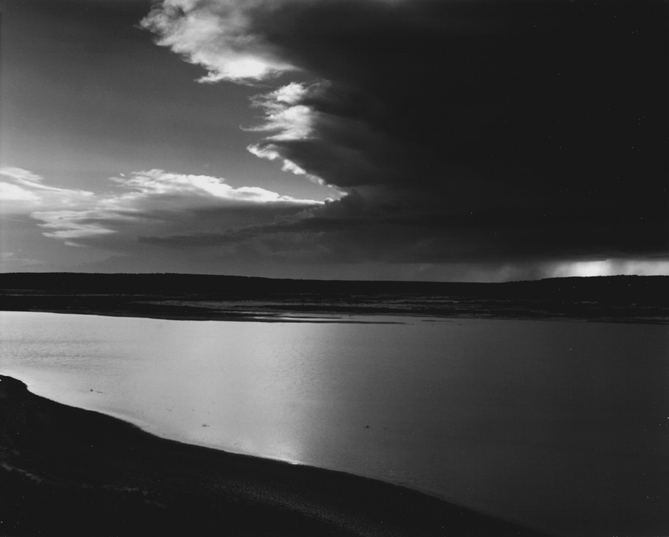 Storm Approaching Lake Meredith