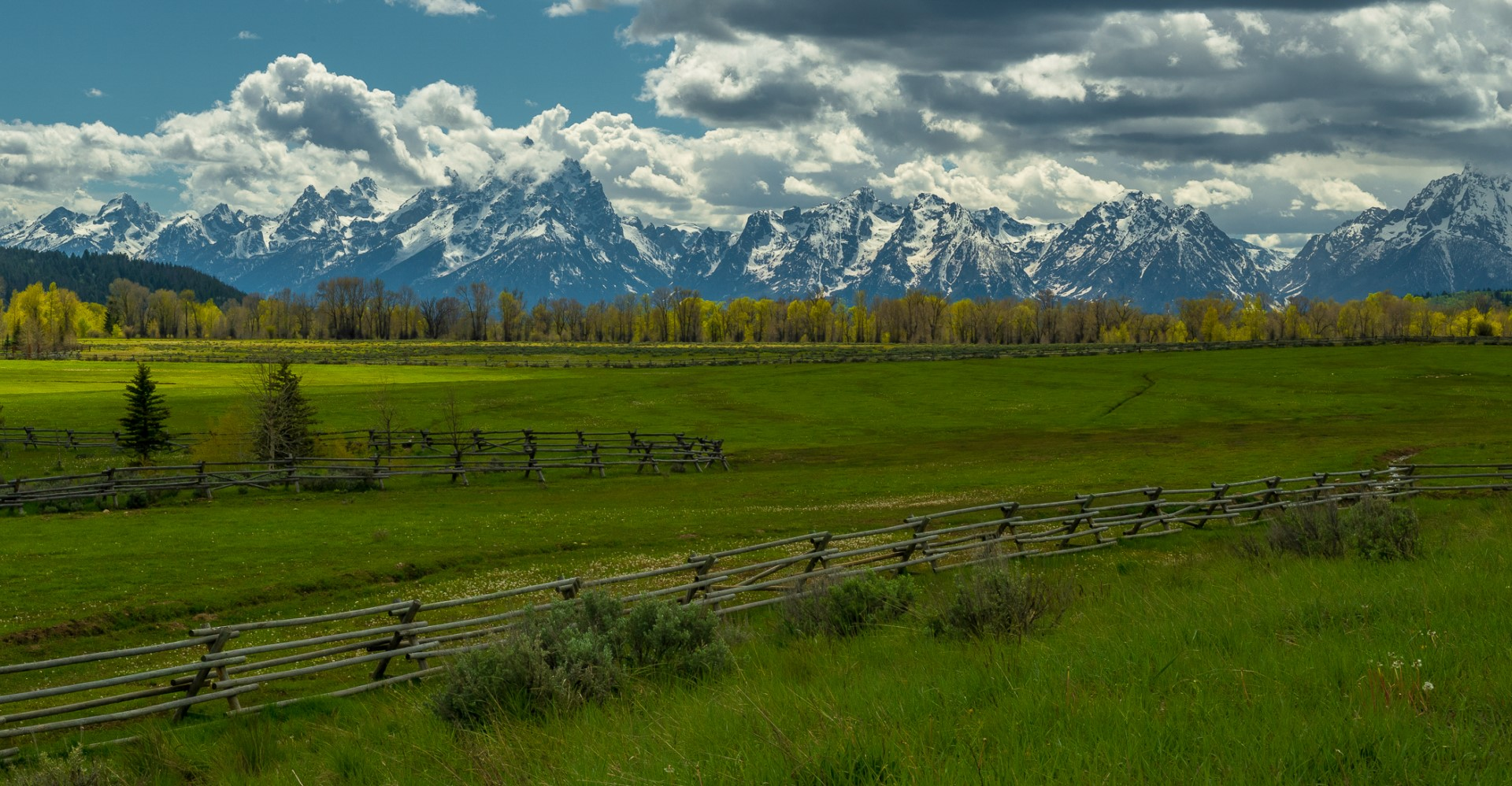 The Wonder and Majesty of the Tetons