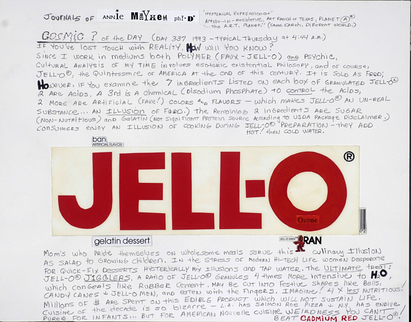Red JELL-O