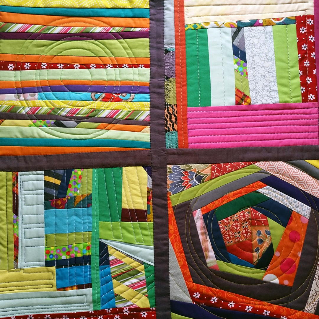 Quilt Diary 201610:  Arrivals, Shelves on Shelves, Garage Sale, Too Hot