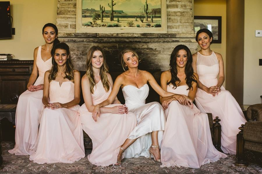 Bridal Party at 143 Living Room