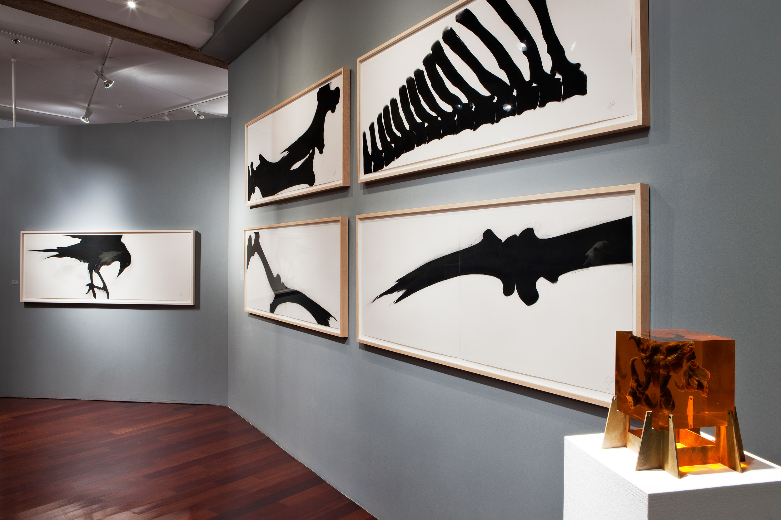 """BONE PICKERS"" (Boston Sculptors Gallery)"