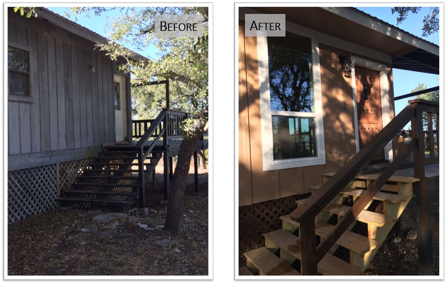 910 PLL, Exterior Front Door1, Before and After, Bear Creek Homes.jpg
